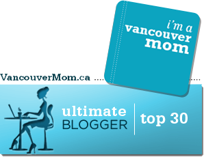 Vancouver Mom Top Blogger