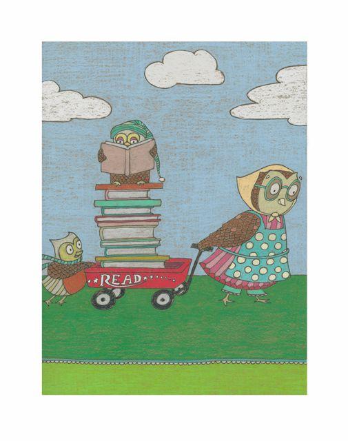 owl humor reading - photo #32